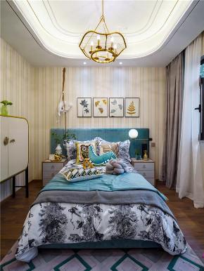 欧式 现代 四居 大户型 三居 80后 小资 儿童房图片来自高度国际姚吉智在150㎡现代欧式好精致的小日子的分享