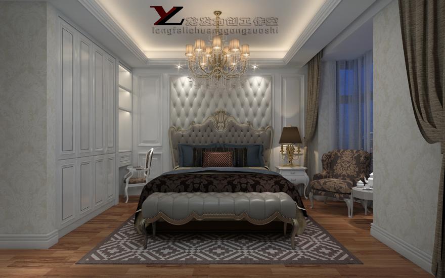 曲江观邸 简欧风格 四居室图片来自西安龙发室内设计在曲江观邸·简欧风格·四居室的分享