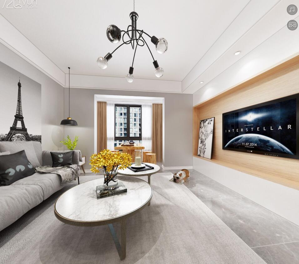 简约 白领 客厅图片来自福州有家装饰-小彭在战峰雅苑的分享
