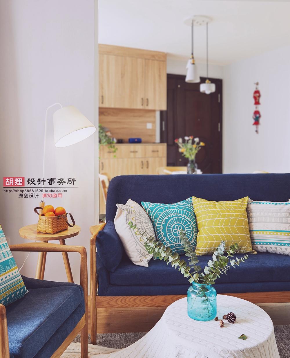 简约 北欧 客厅图片来自设计师胡狸在在一起的分享