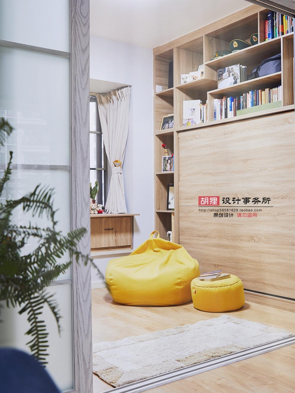 简约 北欧 卧室图片来自设计师胡狸在在一起的分享