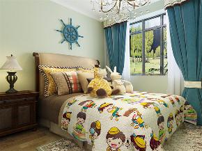 欧式 三居 白领 收纳 80后 小资 儿童房图片来自阳光放扉er在力天装饰-社会山-91㎡-简欧风格的分享