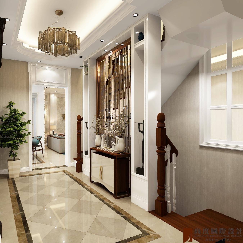 混搭 旧房改造 别墅 80后 玄关图片来自也儿在华远和墅的分享