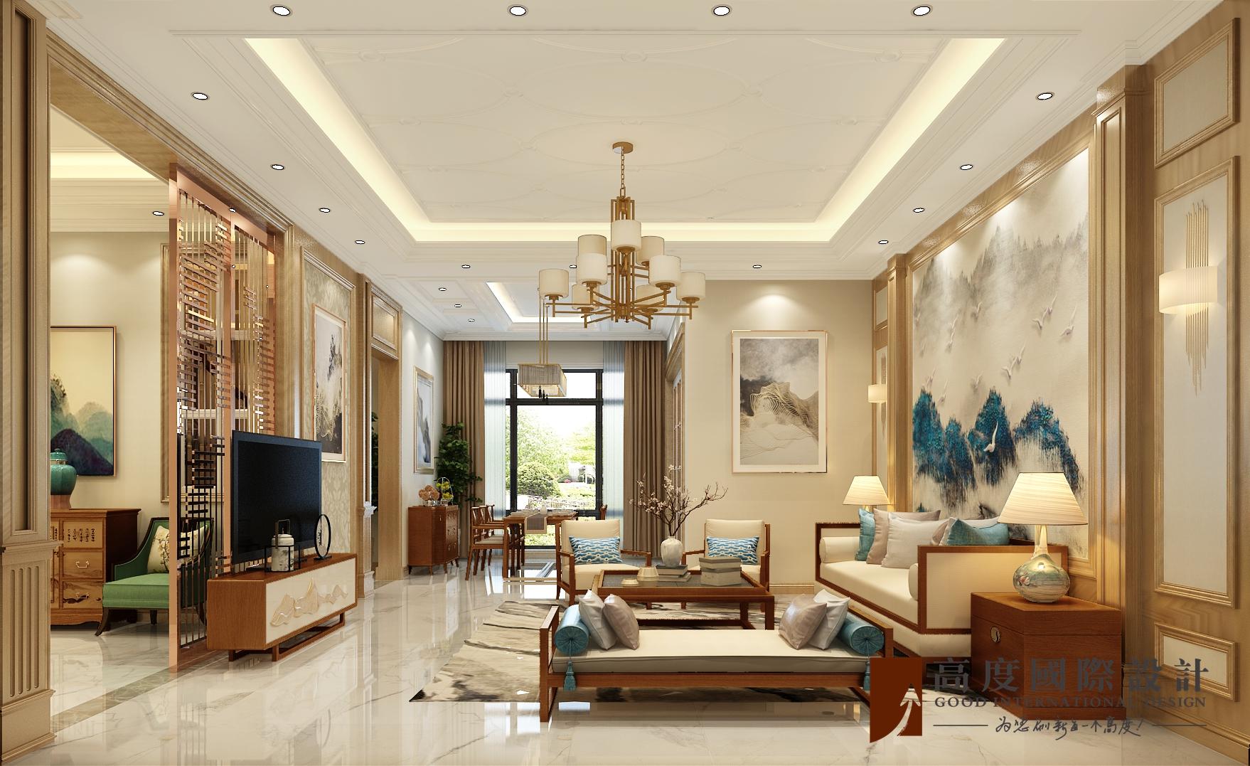 客厅图片来自也儿在华远和墅的分享