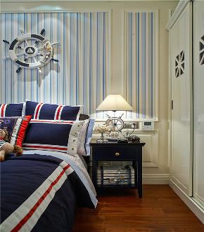美式 四居 大户型 复式 跃层 别墅 小资 儿童房图片来自高度国际姚吉智在230平米美式宁静淡然却不失轻奢的分享
