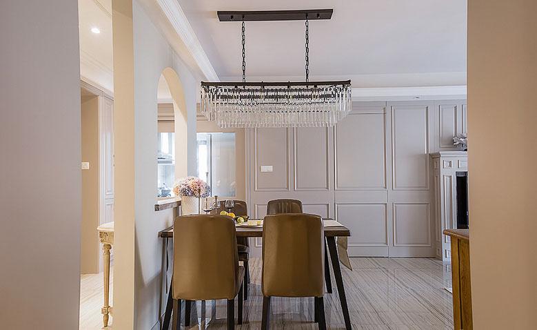 餐厅图片来自家装大管家在魅力十足 130平法式时尚贵族生活的分享