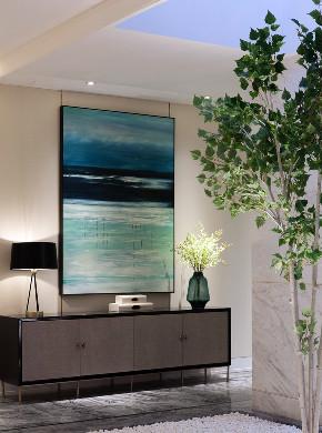 简约 中式 新中式 玄关图片来自别墅设计师杨洋在简洁舒适高雅之新中式风格的分享