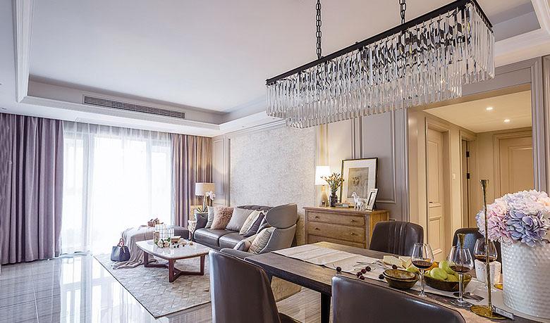 客厅图片来自家装大管家在魅力十足 130平法式时尚贵族生活的分享