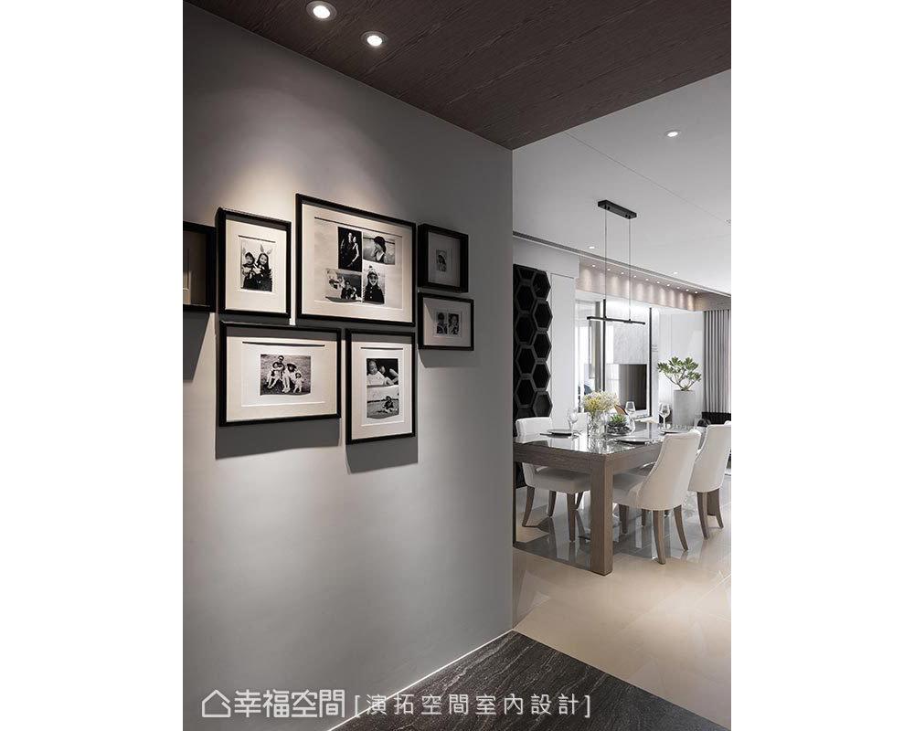 三居 现代 玄关图片来自幸福空间在描绘生活雏形 149平简约日光宅的分享