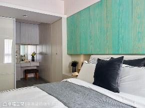 北欧 三居 衣帽间图片来自幸福空间在掌握预算 106平高CP值北欧机能宅的分享