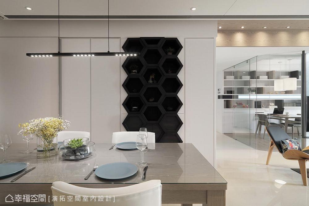 三居 现代 餐厅图片来自幸福空间在描绘生活雏形 149平简约日光宅的分享