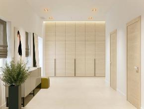 北欧 大户型 跃层 复式 别墅 小资 80后 玄关图片来自高度国际姚吉智在219平米北欧极简主义简到深处的分享