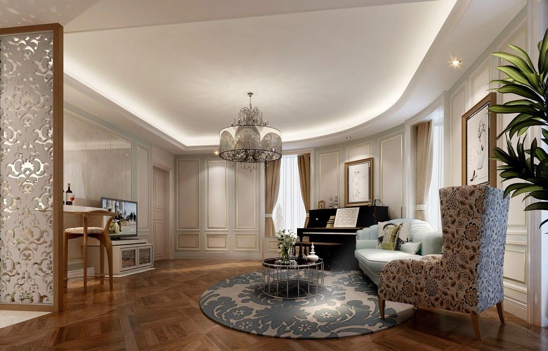 客厅图片来自我是小样在德杰国际城三室128平现代风格的分享
