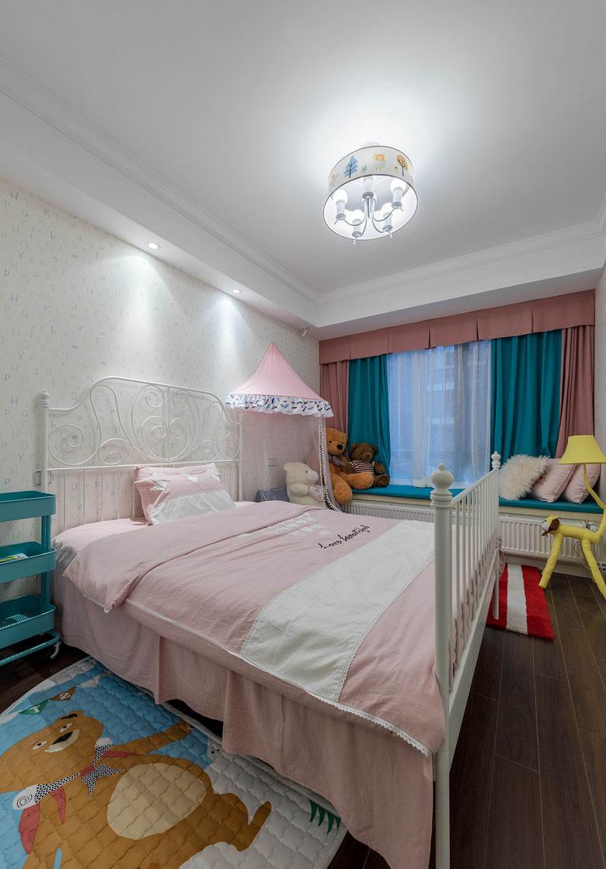 儿童房图片来自家装大管家在春暖花开 180平简约美式混搭3居的分享