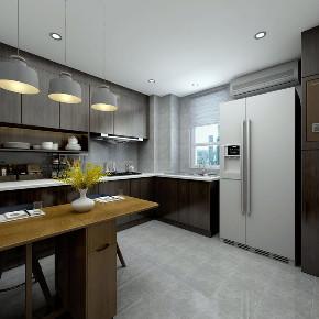 简约 混搭 白领 收纳 小资 现代 灰色 厨房图片来自圣奇凯尚室内设计工作室在圣奇凯尚装饰-后现代风格的分享
