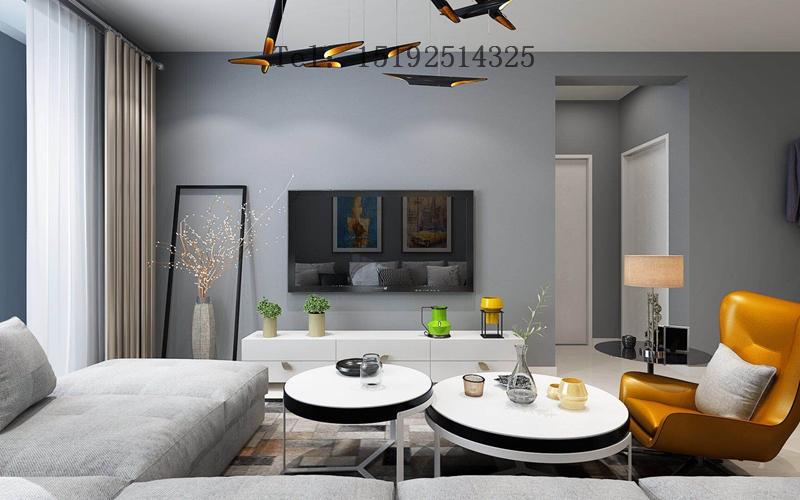 二居 海尔 世纪公馆 简约 客厅图片来自快乐彩在海尔世纪公馆85平二居室的分享