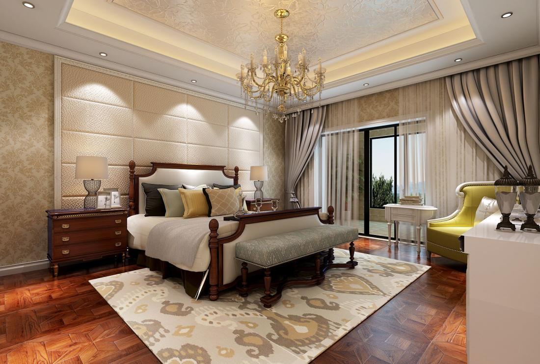 盛世天地 别墅装修 欧式风格 腾龙设计 周峻作品 卧室图片来自腾龙设计在周峻作品 盛世天地 新欧式风格的分享