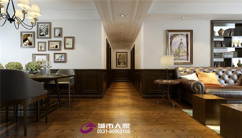 简约 美式 财富壹号 其他图片来自济南城市人家装修公司-在财富壹号装修美式风格装修设计的分享