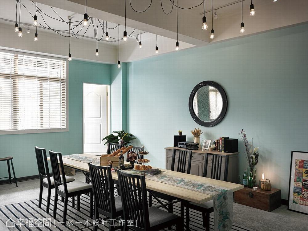 工业 商空 餐厅图片来自幸福空间在梦想成真 83平异国怀旧暖心餐厅的分享