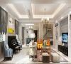 盛世天地别墅装修新欧式风格设计,上海腾龙别墅设计师周峻作品,欢迎品鉴