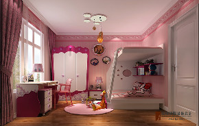 混搭 二居 三居 80后 小资 旧房改造 白领 儿童房图片来自高度国际姚吉智在林奥嘉园120平米混搭多元化的家的分享