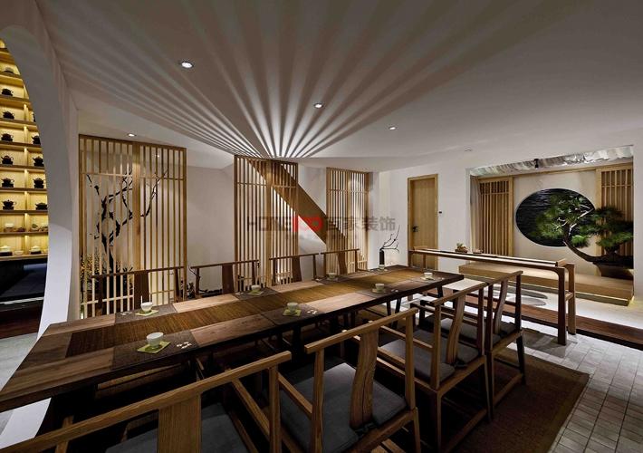 孔子学院 工装 中式风格 餐厅图片来自百家设计小刘在孔子学院1000平中式风格半包40万的分享