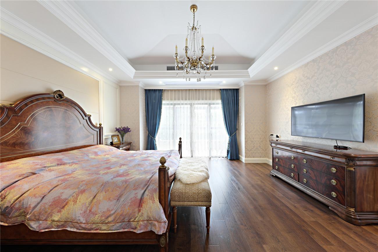 合生国际花 别墅装修 欧美古典 腾龙设计 卧室图片来自孙明安在合生国际花园完工实景展示!的分享