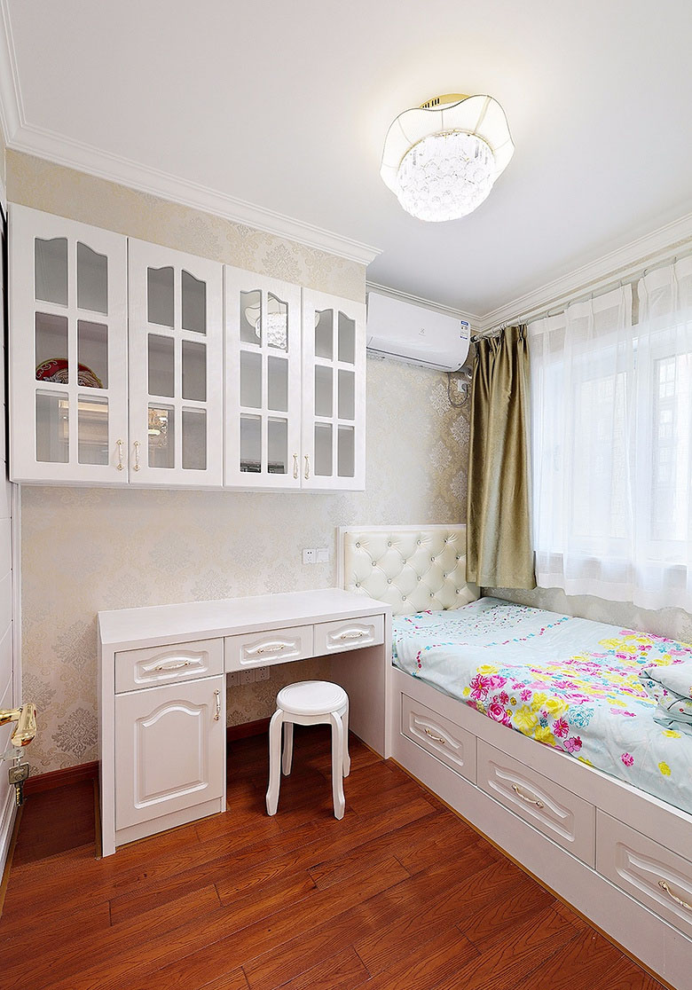 书房图片来自家装大管家在温馨恬静 127平简约欧式混搭3居的分享
