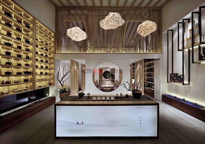 孔子学院 工装 中式风格 玄关图片来自百家设计小刘在孔子学院1000平中式风格半包40万的分享