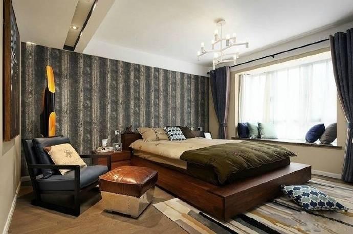 简约 三居 小资 美式 梵客家装 卧室图片来自乐粉_20180315102349513在名士华庭三居室美式简约风格的分享