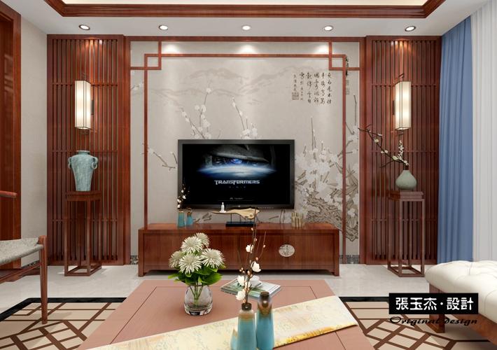 百家装饰 沈阳装修 中式风格 二手房改造 客厅图片来自百家装饰--小莹在钓鱼台七号 146平中式风格的分享