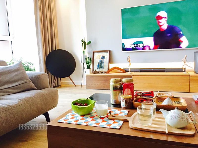 国际名都 青岛装修 167平装修 客厅图片来自实创装饰集团青岛公司在国际名都165平老房翻新的分享