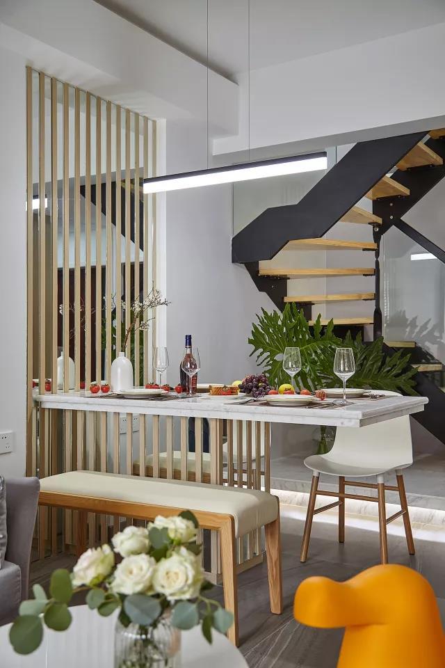 简约 三居 小资 餐厅图片来自尚舍设计在归蜀的分享