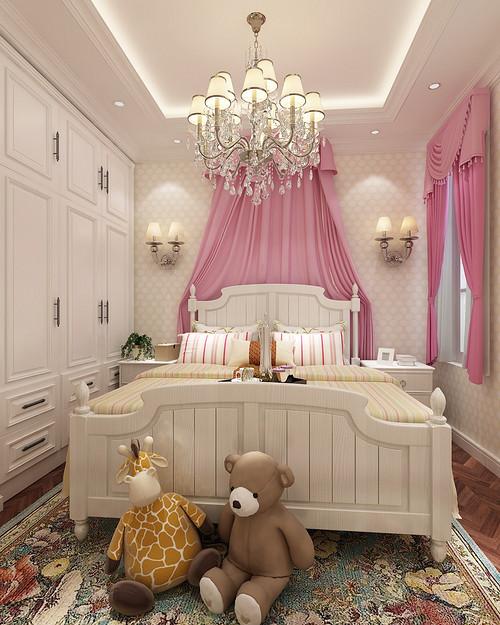 卧室图片来自装家美在复地东山国际246平米欧式风格的分享