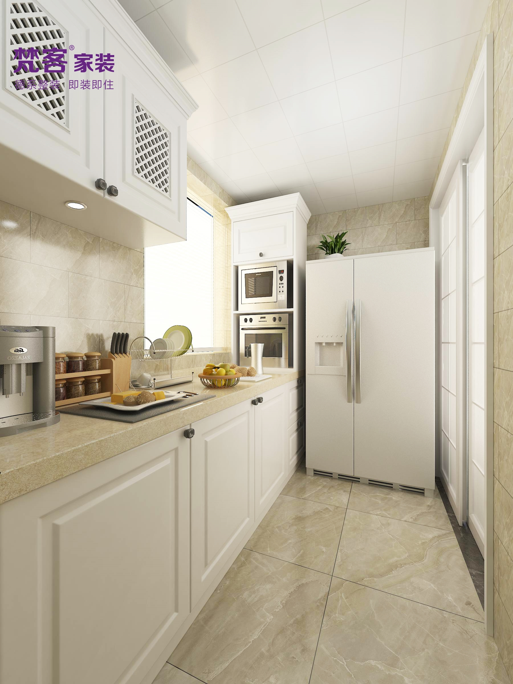 简约 欧式 三居 厨房图片来自乐粉_20180315102349513在雅境新风尚的分享