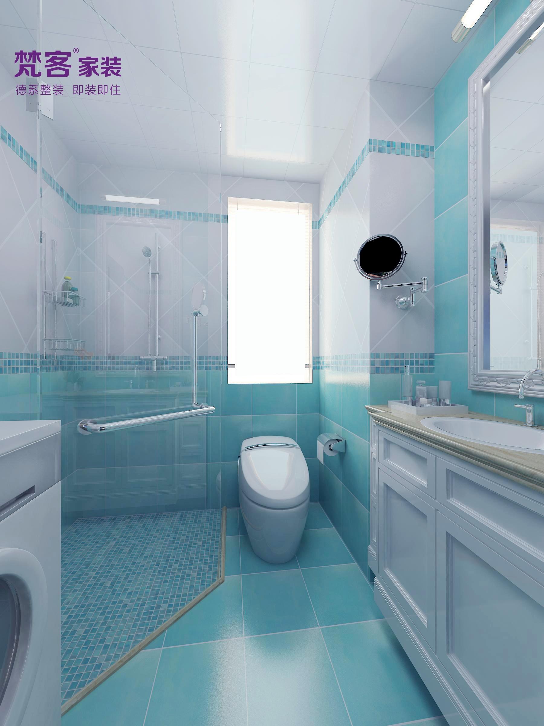 简约 欧式 三居 卫生间图片来自乐粉_20180315102349513在雅境新风尚的分享