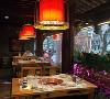 舌尖上的美味-火锅店设计