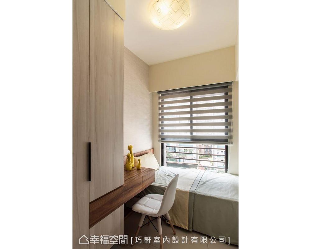 二居 样板房 装修风格 装修设计 设计作品 卧室图片来自幸福空间在66平小户型也能有大宅享受的分享