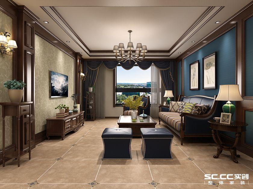 三居 都市果岭 新古典 客厅图片来自快乐彩在都市果岭三居室140平新古典的分享