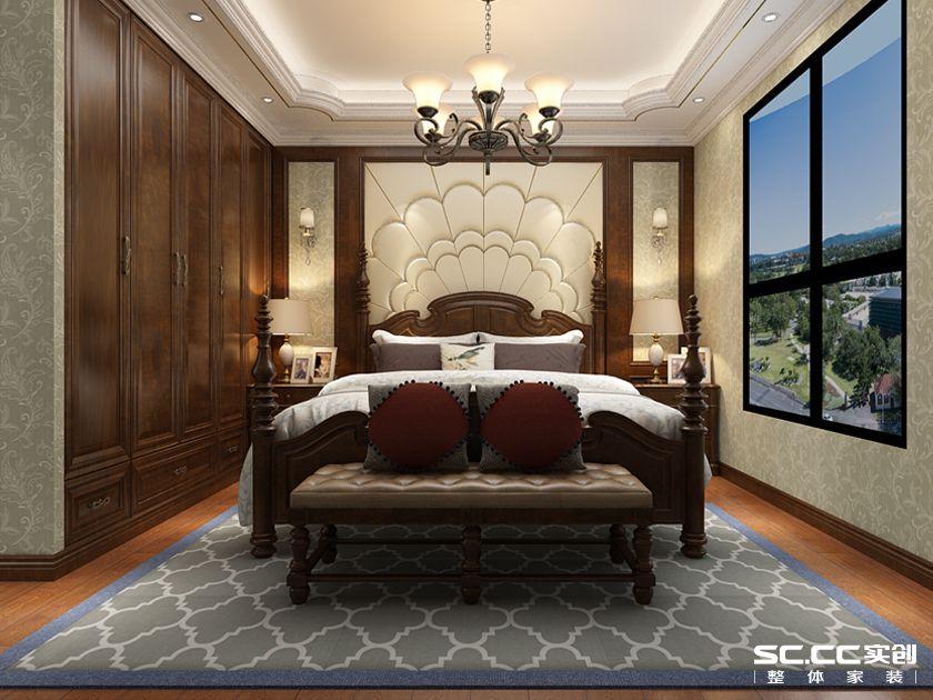 三居 都市果岭 新古典 卧室图片来自快乐彩在都市果岭三居室140平新古典的分享