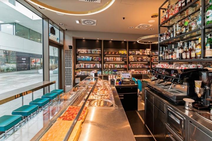 简约 收纳 书咖设计 书屋设计 咖啡设计 餐厅图片来自尚品老木匠装饰设计事务所在味觉书吧设计-美食与文化的分享