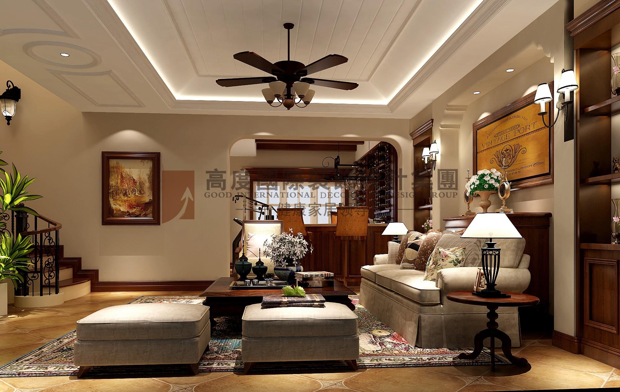 别墅装修 别墅设计图片来自北京高度国际在龙湖香醍溪岸托斯卡风格的分享