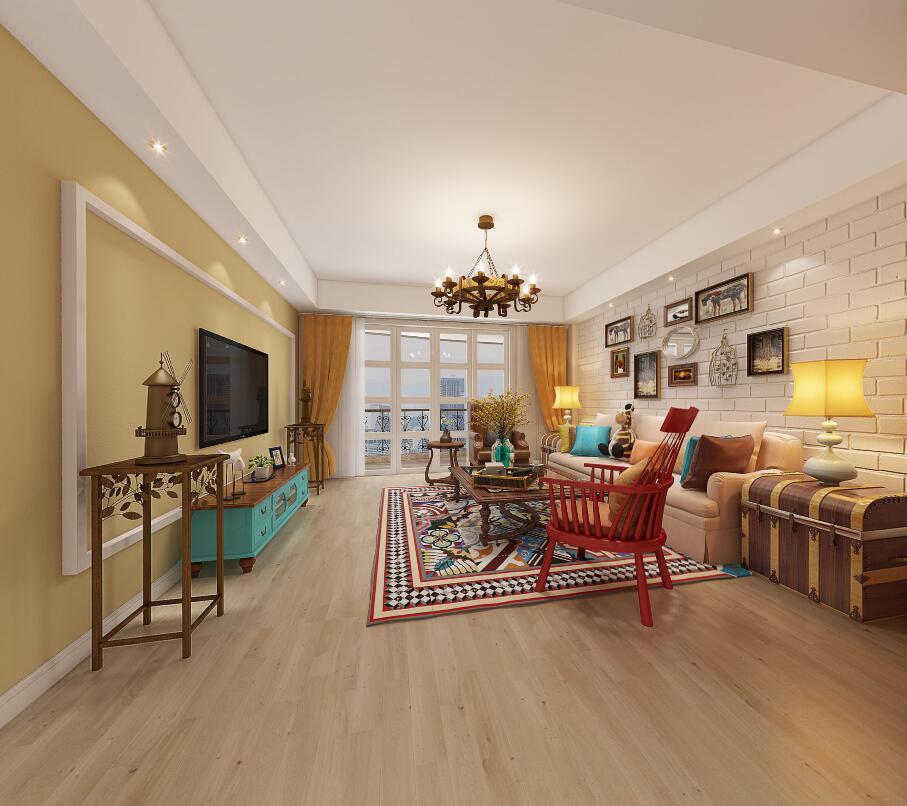 田园 小资 80后 客厅图片来自福州有家装饰-小彭在海润滨江花园的分享