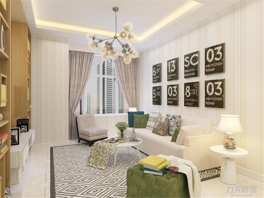 简约 二居 白领 收纳 80后 小资 客厅图片来自阳光力天装饰在力天装饰 格调绮园 90㎡ 现代的分享