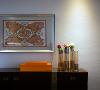 设计手法中我们运用爱马仕橙,整体空间我们将爱马仕主色调辅助搭配石灰皮质是整个空间融合又兼具品质感。