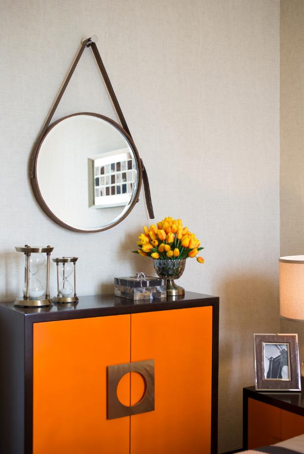简约 小资 全屋定制 个性定制 爱马仕橙图片来自石木源设计在爱马仕橙风格全屋整装的分享