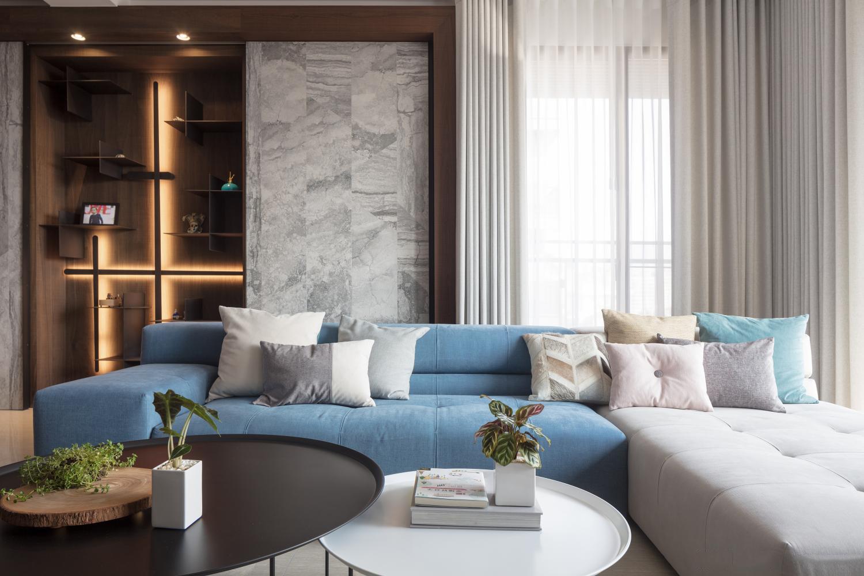简约 金郡上城郡 客厅图片来自别墅设计师杨洋在现代简约装修设计的分享