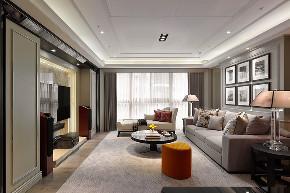 港式 三居 大户型 复式 跃层 80后 小资 客厅图片来自高度国际姚吉智在146平米港式家居不轻浮不造作的分享