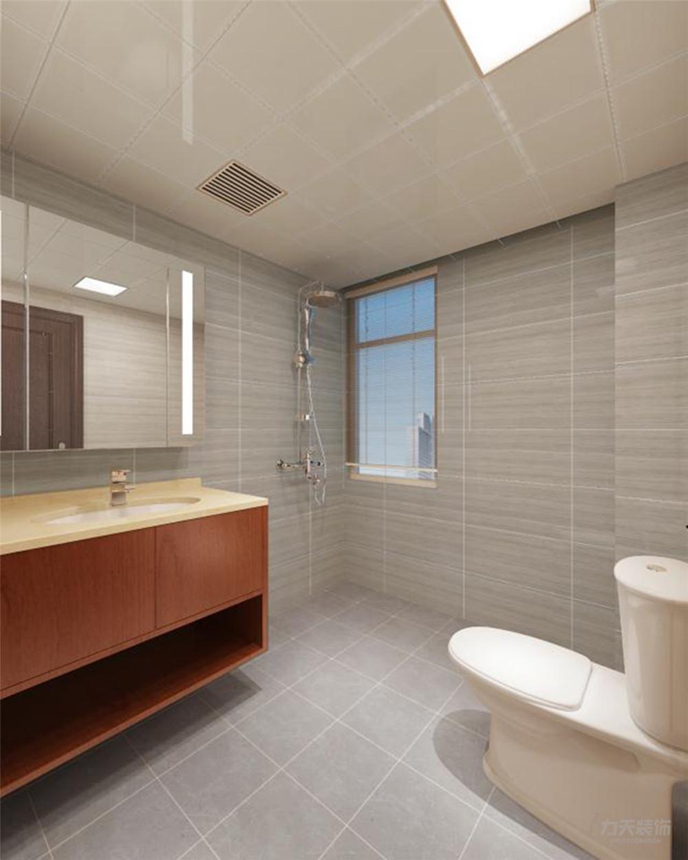 三居 白领 收纳 80后 小资 卫生间图片来自阳光力天装饰在力天装饰 汇和家园 115㎡ 新中式的分享