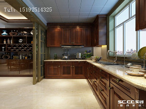 四居 中式 依云小镇 厨房图片来自快乐彩在依云小镇四居室中式装修的分享